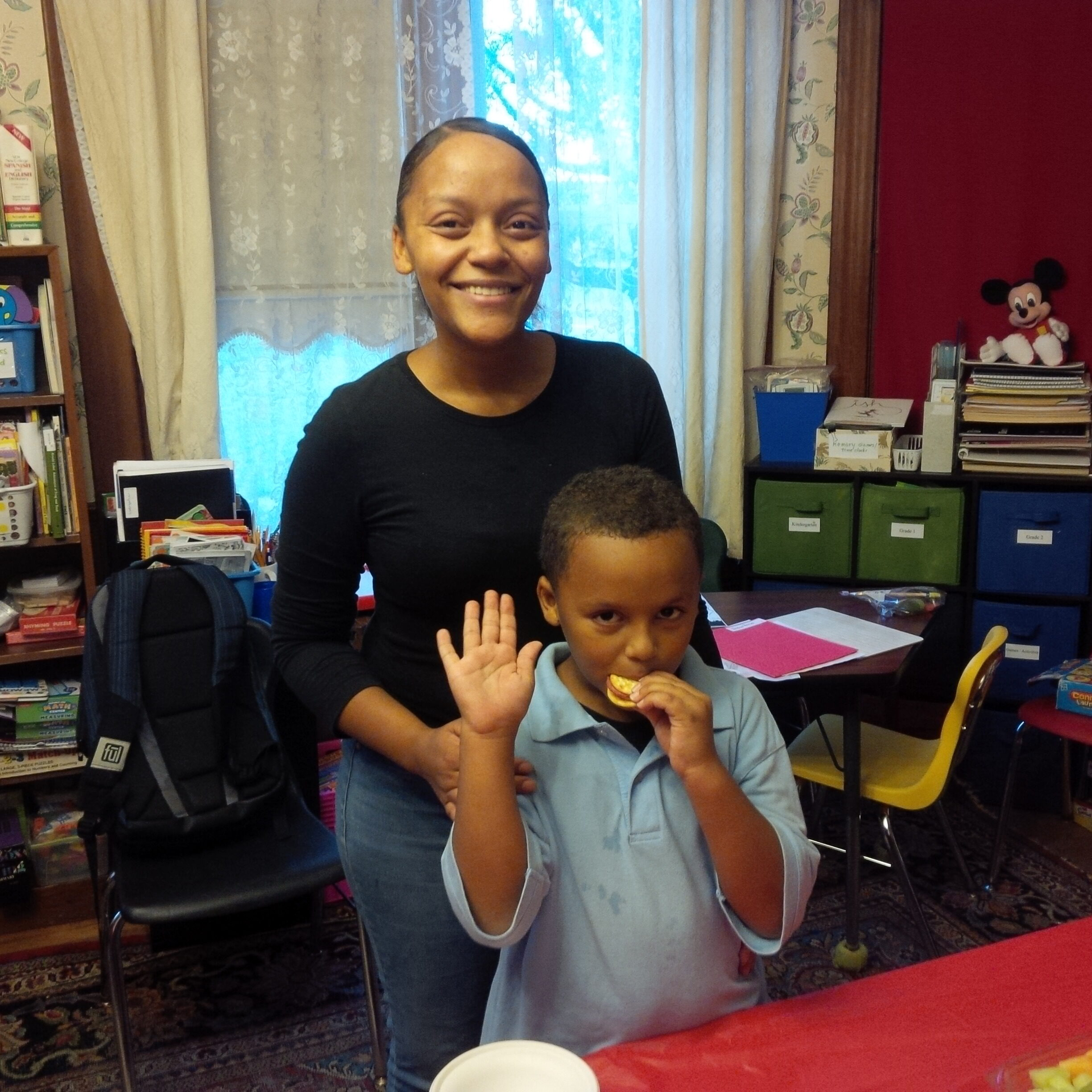 Homework House helps my son with his reading. It also gives him a safe & secure place to go after school to learn and to participate with other children - Natasha R. parent