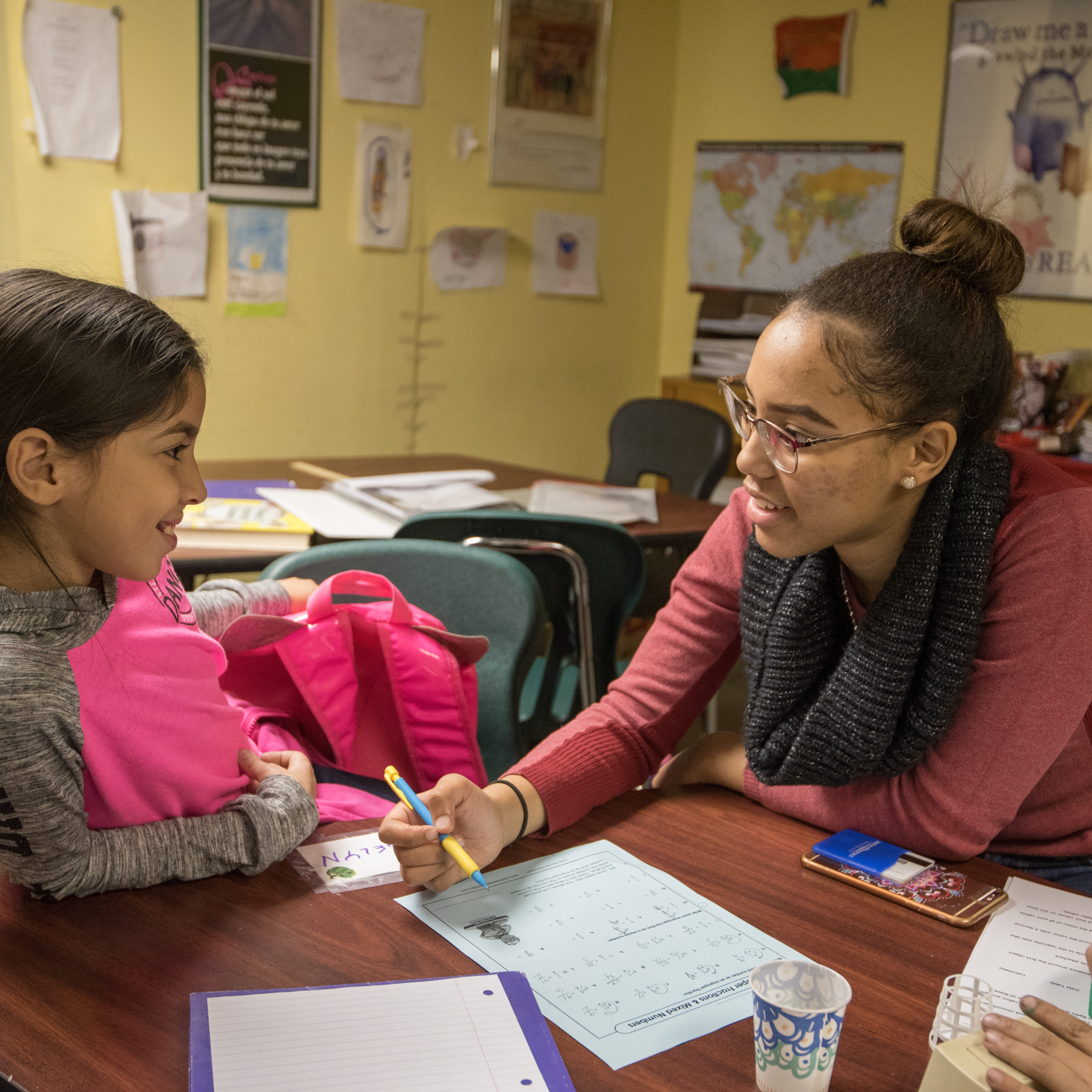 Homework House is a place that helps kids learn and teaches adult about compassion and understanding - Vanessa , Mt. Holyoke College volunteer